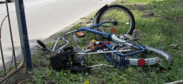 Грузовик сбил насмерть велосипедиста в Плевенской области