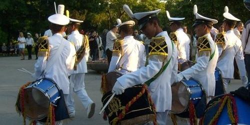 Военные моряки Болгарии — празднуют день рождения…
