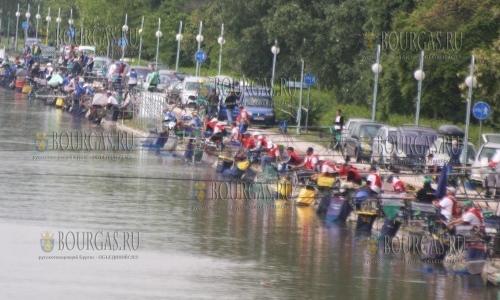 На Гребном канале Пловдива сегодня можно было бесплатно порыбачить