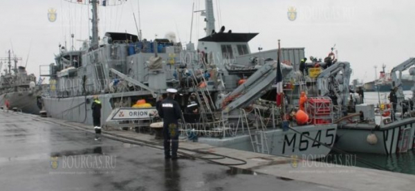 6 морских мин времен Первой мировой войны обезвредили в Черном море в районе Несебра