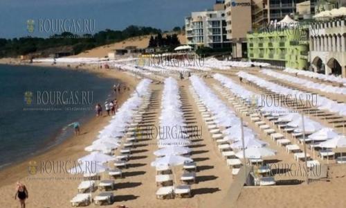 На Южном пляже Несебра официально стартовал летний туристический сезон