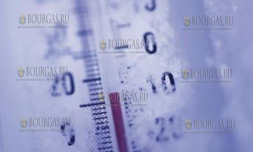 23 января в Болгарии — морозный Желтый код опасности
