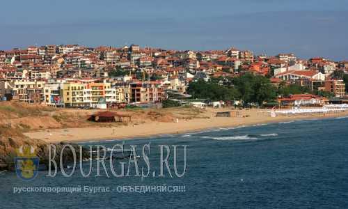 В Созополе протестуют против строительства временных песчаных дамб