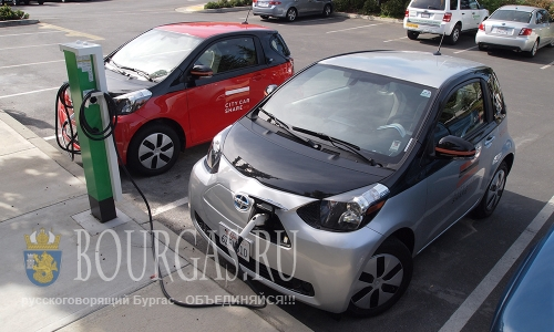 Новая зарядная станция для электромобилей появилась в Бургасе