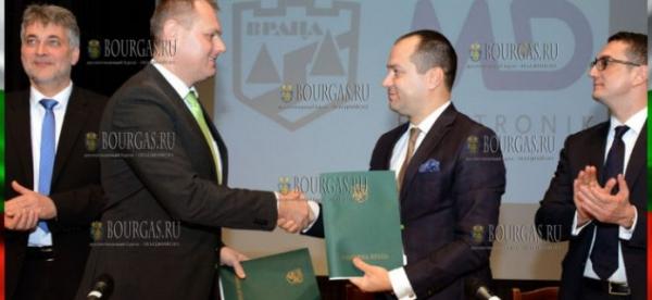 Немецкая компания МД «Электроник» построит в Болгарии завод, сумма инвестиций превысит €11 млн