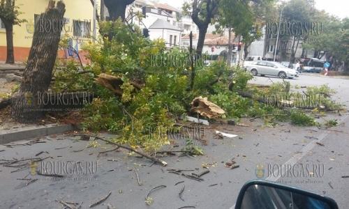Непогода потрепала Болгарию