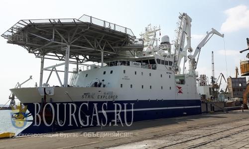 Исследовательское судно Stril Explorer в Бургасе