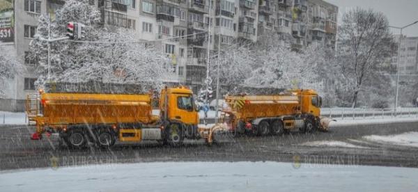 Сегодня в Западной Болгарии выпал первый снег