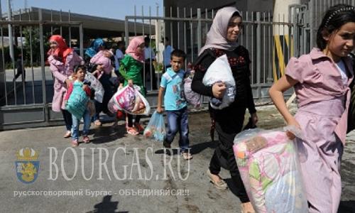Поток беженцев в Болгарию снижается
