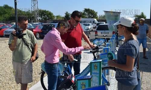 Электро-велосипед в Бургасе есть возможность взять напрокат