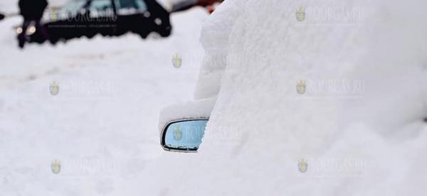 Снежный покров в Пампорово составляет около 1 метр