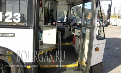 Температура +60°С в салоне автобусов в Пловдиве