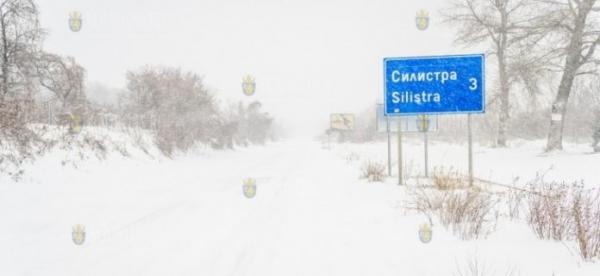Дорога Силистра-Русе сегодня оказалась закрыта
