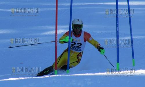 На старте сезона болгарский горнолыжник — Альберт Попов, был лучшим