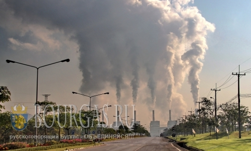 Грязный воздух сегодня зафиксирован в пяти районах Софии