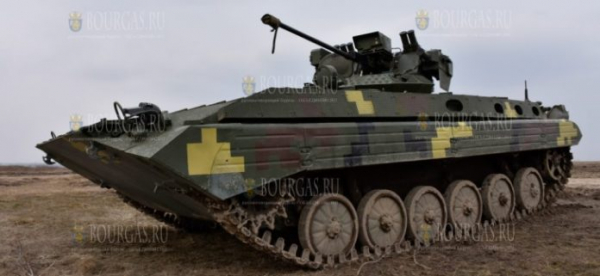 На выставке HEMUS 2020 в Болгарии презентовали боевую машину Anakonda