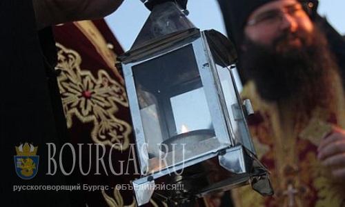 Благодатный огонь в Болгарии ждут уже сегодня