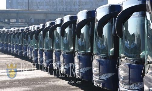 Муниципальный транспорт Бургаса переходит а зимний режим работы
