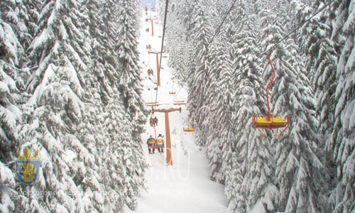 Горнолыжный курорт Пампорово завалило снегом