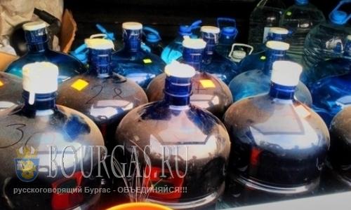 В Болгарии продолжают вести борьбу с нелегальным алкоголем