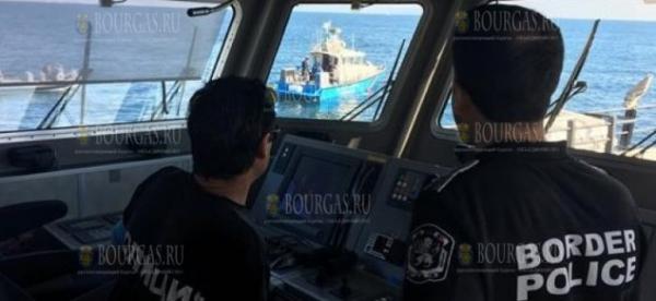 """Корабли ГД """"Гранична полиция"""" Болгарии приняли участие в учениях под эгидой Frontex"""