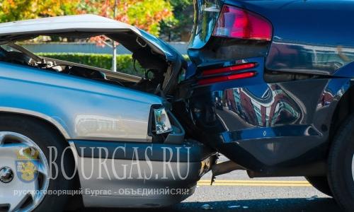 За один день в Бургасе произошло сразу 19 ДТП