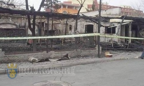 На Солнечном Берегу сгорел ресторан…
