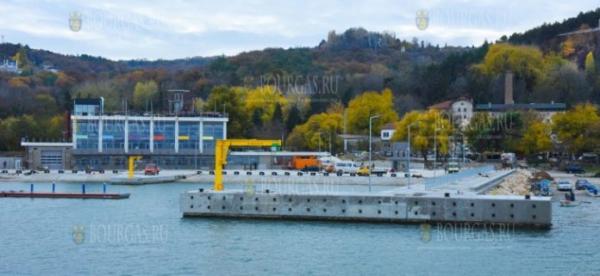 В Болгарии завершено строительство рыболовного порта «Карантината»