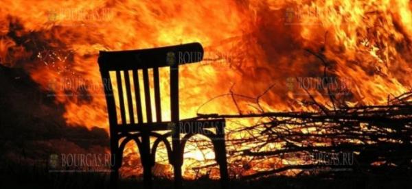 В Болгарии пожилой мужчина погиб в пожаре в своем доме