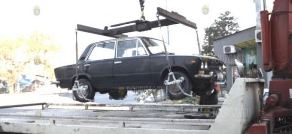 Плата за вывоз неправильно припаркованных авто в Бургасе вырастет