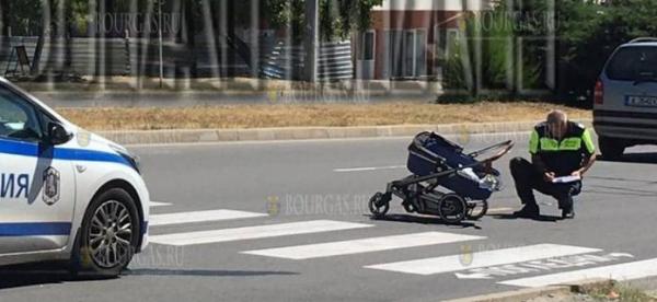 Автомобиль в Бургасе сбил женщину с ребенком
