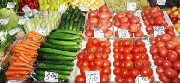 В Болгарии подорожали огурцы и красный перец, стали доступнее томаты, картофель, зеленый перец, яблоки и виноград