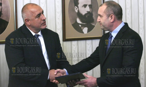 Бойко Борисов получил мандат на формирование правительства