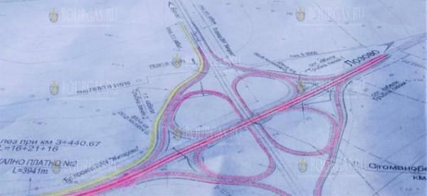 В Бургасе начато строительство Северной объездной дороги