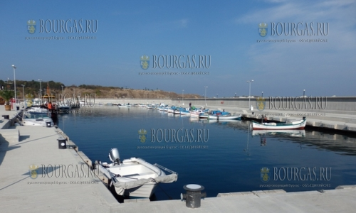 Официально открыт рыбацкий порт в Черноморец
