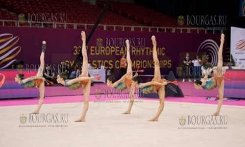 Болгарские гимнастки на ЕВРО-2017 по художественной гимнастике завоевали три медали