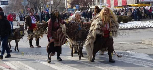 В Благоевграде проходит XI Муниципальный фестиваль маскарадных игр