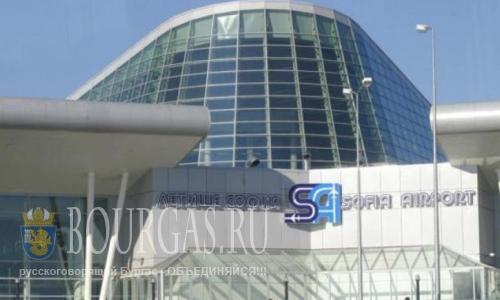 Поток пассажиров в аэропорту Софии вырос более, чем на треть