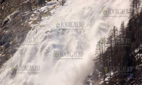 Лавинная опасность в горах Болгарии остается высокой