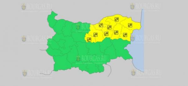 На 6 февраля в Болгарии — снежный и ветреный Желтый код опасности