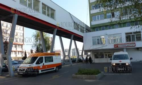 В УМБАЛ-Бургас включили еще несколько кислородных аппаратов