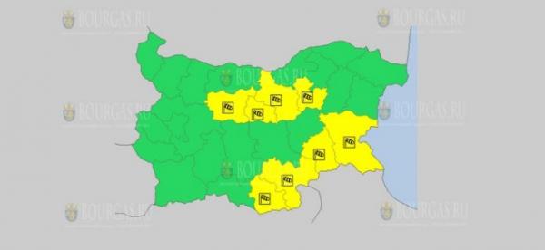 На 3 марта в Болгарии — ветреный Желтый код опасности