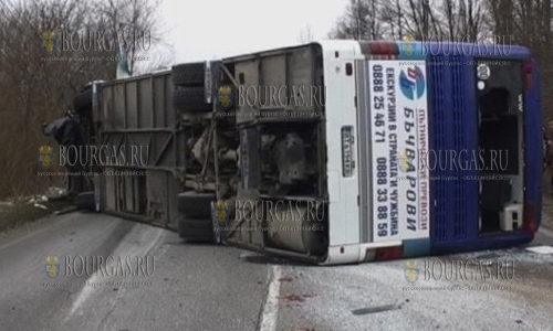 Автобусы в Болгарии обяжут оснастить ремнями безопасности?