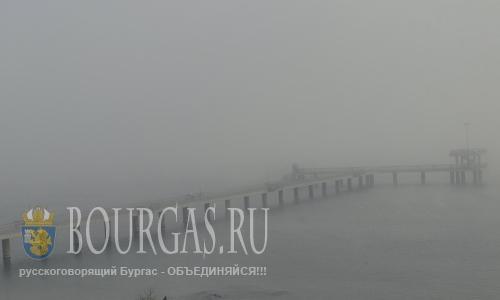 Порты Бургаса сегодня с утра закрыты