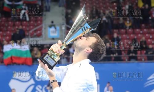 Теннисный турнир Garanti Koza Sofia Open выиграл болгарин