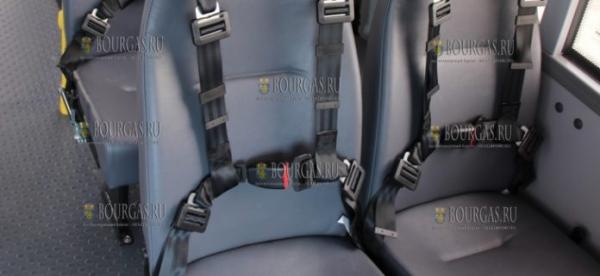 Все рейсовые автобусы в Болгарии оборудуют ремнями безопасности