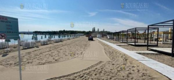 Дождевые стоки смыли большую часть пляжа в Крайморие
