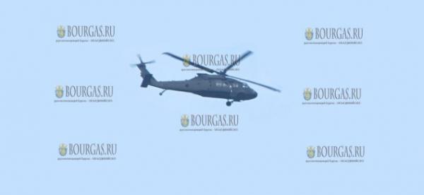 В небе над Бургасом пролетят американские вертолеты