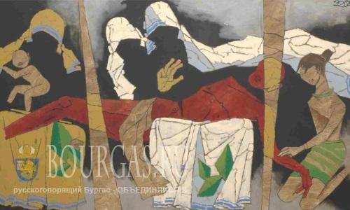 В понедельник в зале «Георги Баев» ( культурный центр «Морское казино») — откроется выставка индийского искусства