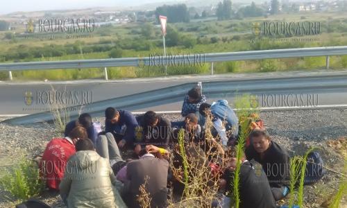 В Болгарии задержана группа нелегальных мигрантов